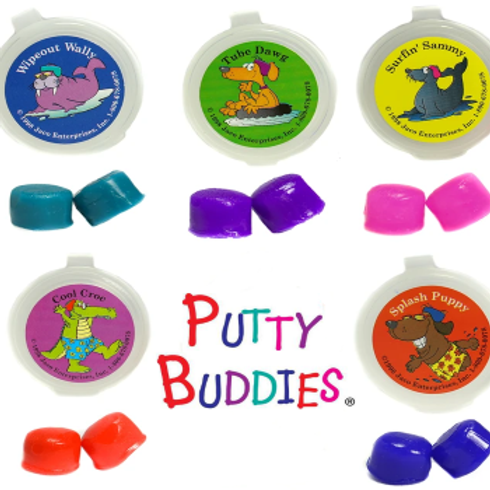 Putty Buddies - Coloured Silicone Ear Plugs