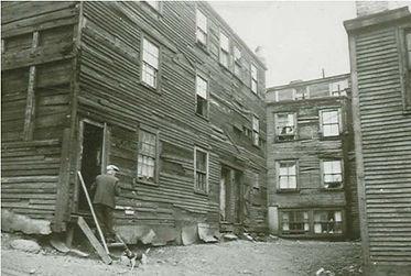 St. John's Central Slum, 1950s