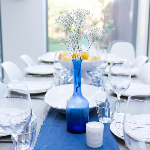 Blue vase on dining table.jpg