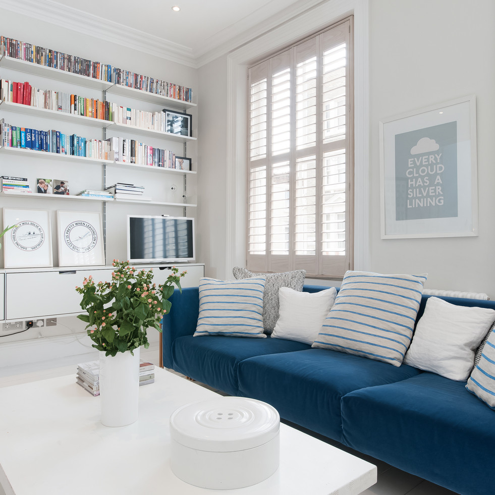 Sofa and vitsoe bookcase.jpg