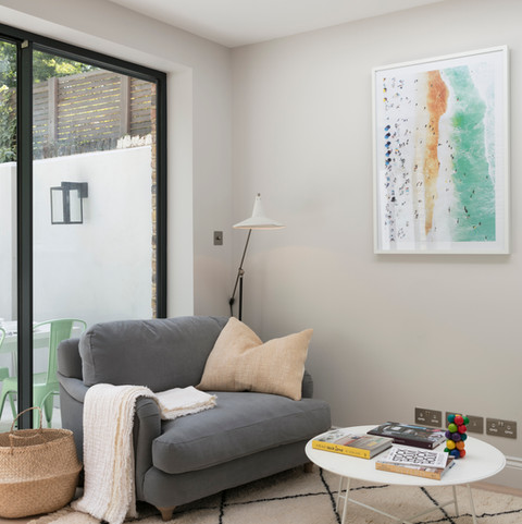 Sitting Room  - Design & Build by Freemand & Whitehouse