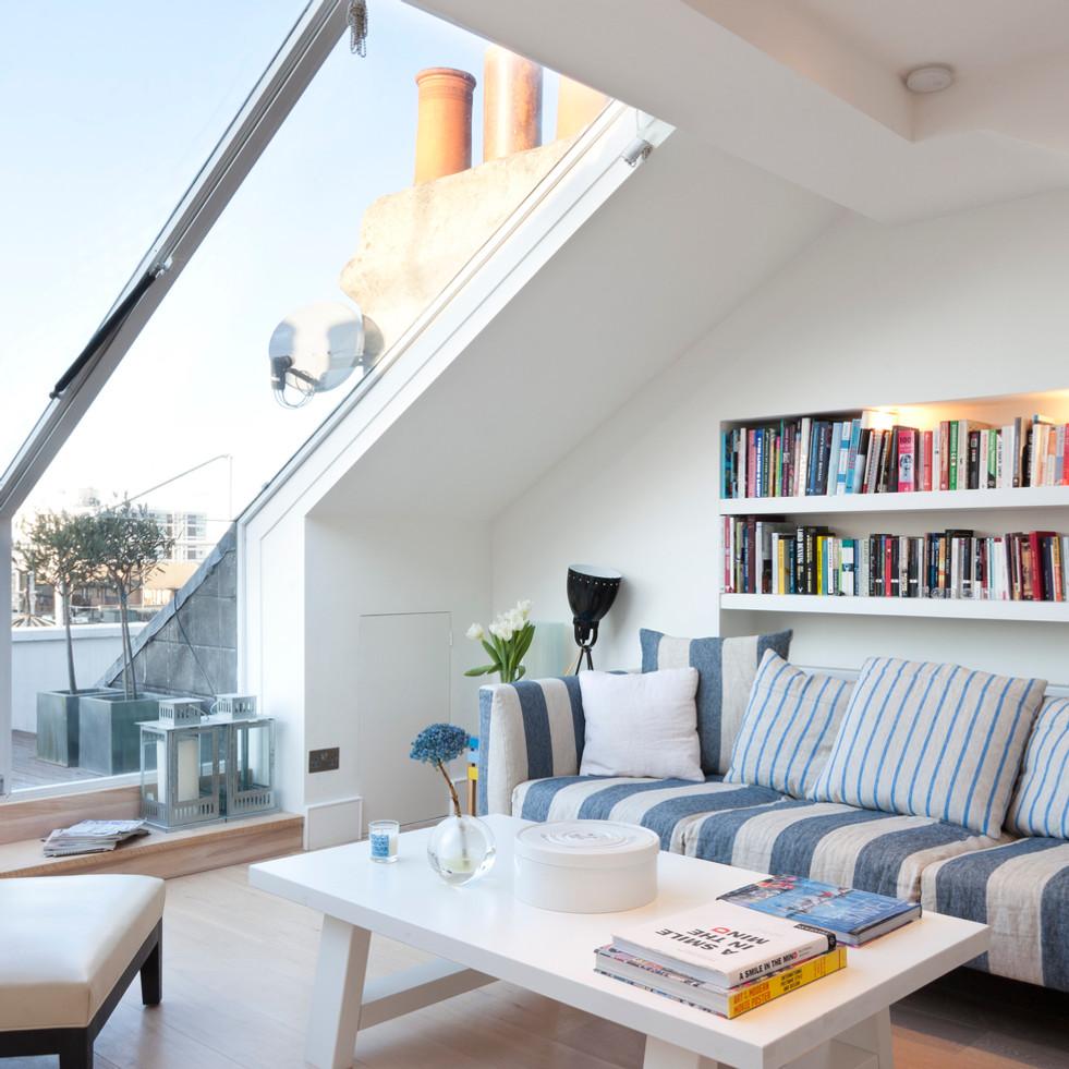 Skylight and striped sofa.jpg