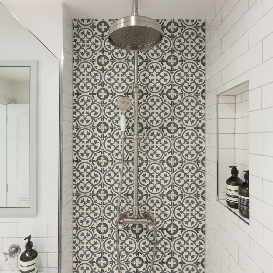 Shower  - Design & Build by Freemand & Whitehouse