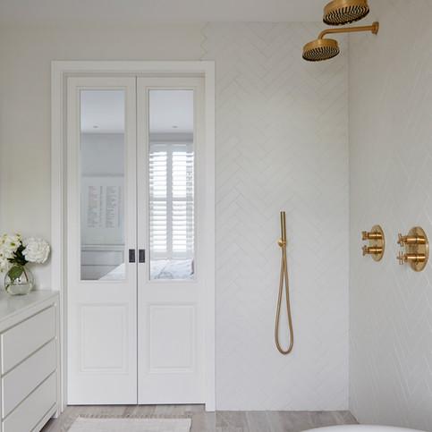 Master Bathroom - Shower - Design & Build by Freeman & Whitehouse