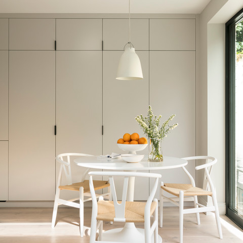 Kitchen Storage and Table  - Design & Build by Freemand & Whitehouse