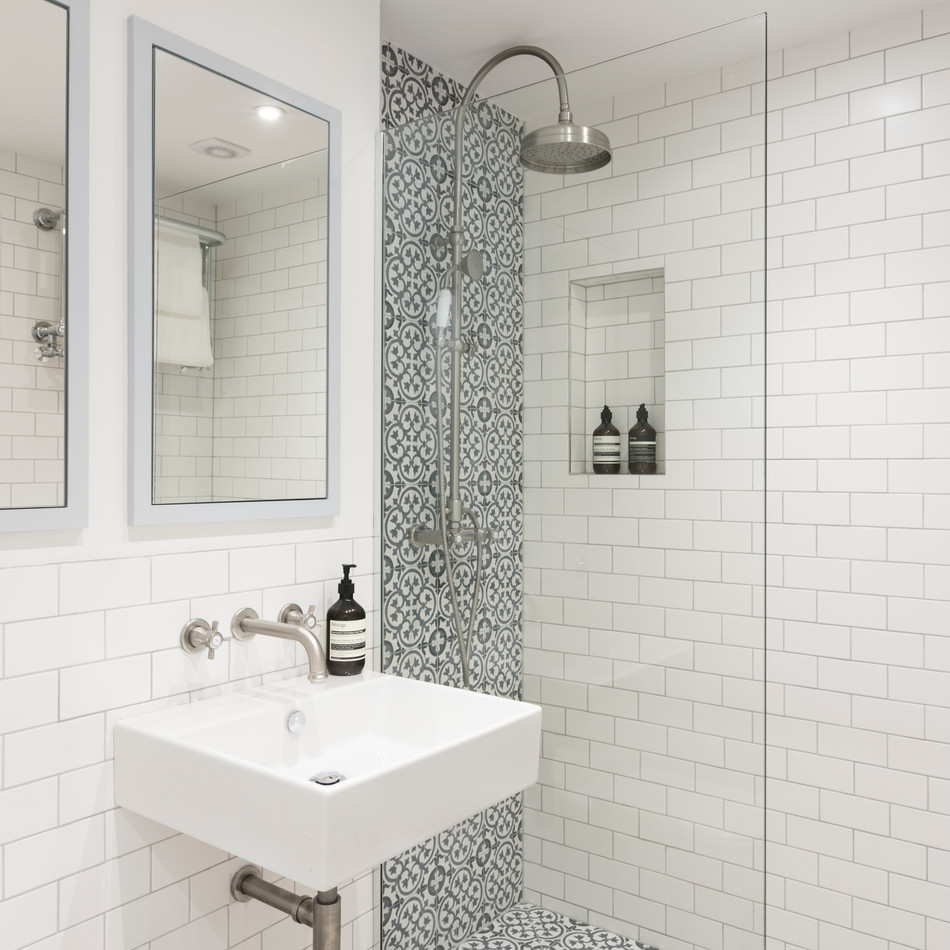 Shower Room  - Design & Build by Freemand & Whitehouse