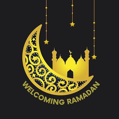 Black Gold Welcoming Ramadan Instagram P