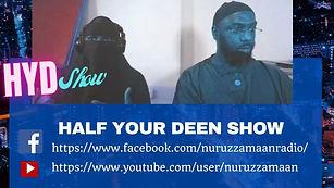 Half Your Deen Show Flyer