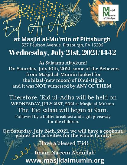 Eid Al-Adha 2021