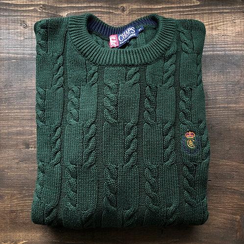 Chaps/Raplh Lauren Cable Knit