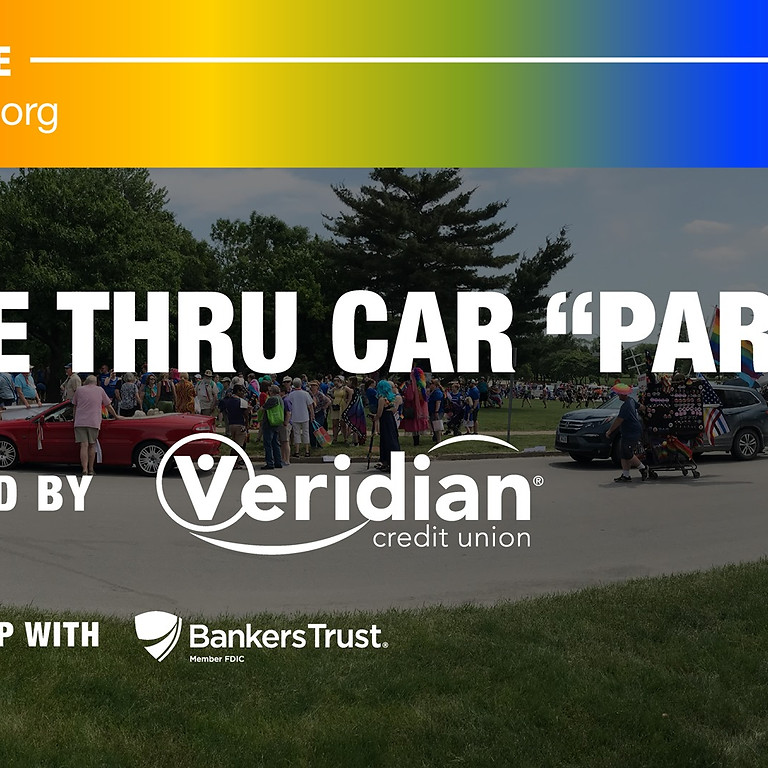 """Drive Thru """"Parade"""" presented by Veridian Credit Union in partnership with Banker's Trust"""