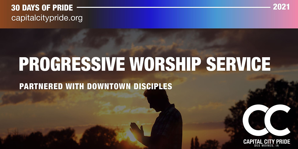 Progressive Worship Service Partnered with Downtown Disciples
