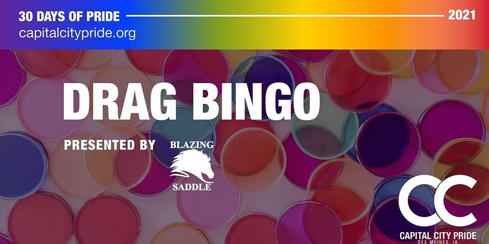 Drag Bingo Partnered with the Blazing Saddle