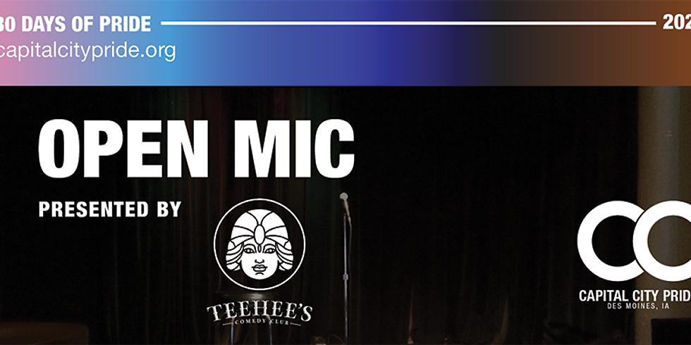 Open Mic Presented by Teehee's