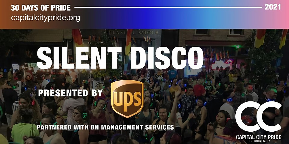 Silent Disco Presented by UPS in Partnership with BH Management