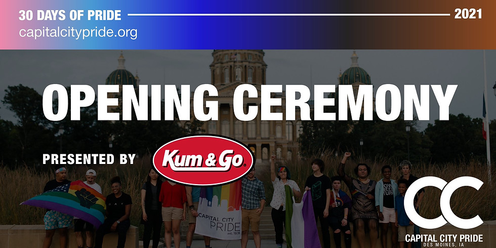 Opening Ceremony Presented by Kum & Go