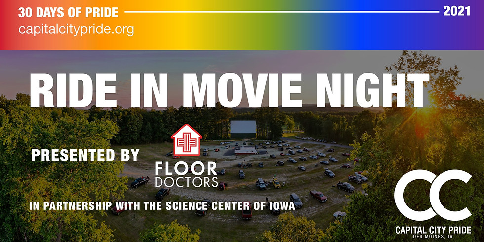 Ride-In Movie Presented by The Floor Doctors Partnering with Science Center of Iowa