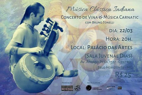 Música indiana palácio das artes