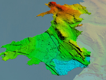 Bluesky Awarded LiDAR Contract to Map Wales from the Air