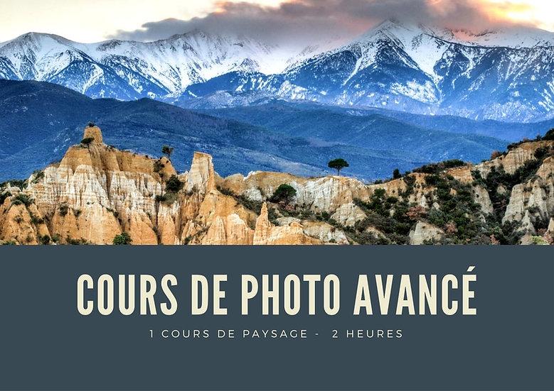 Cours de photo Avancé - 2H - Paysage d'art