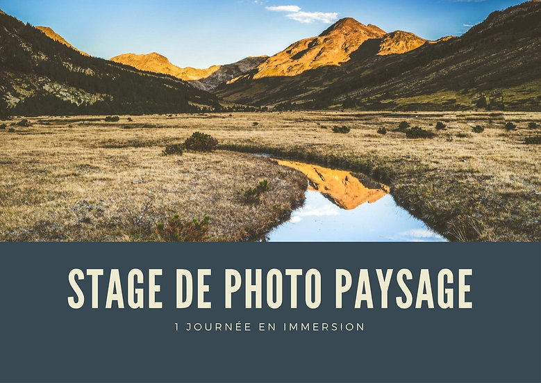 Stage photo - 8h - Paysage d'art