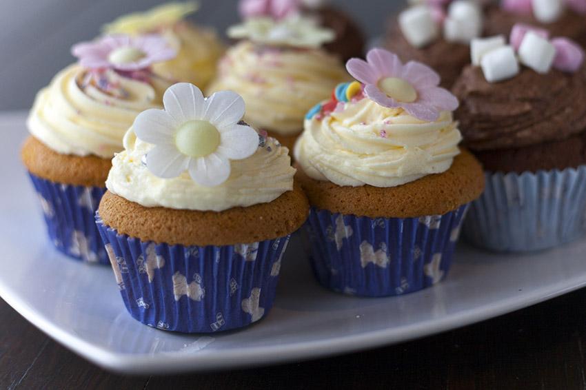 Pony Espresso Cupcakes