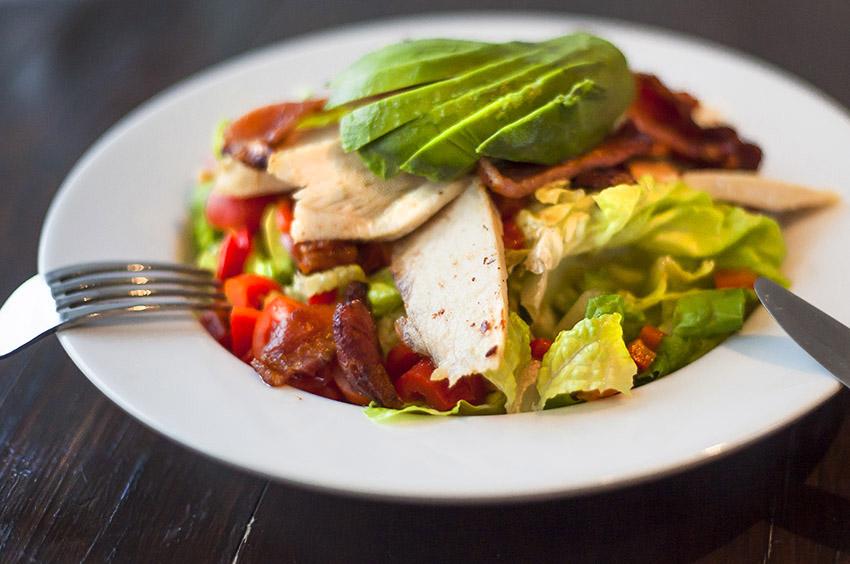 Chicken, Bacon & Avocado Salad
