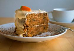 Pony Espresso Carrot Cake