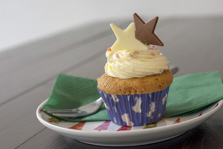 Pony Espresso Cupcake