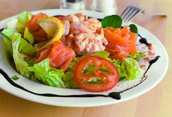 Pony Espresso Seafood Salad