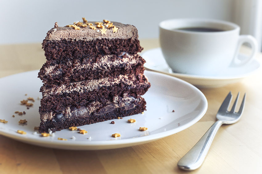 Pony Espresso Chocolate&Cherry Cake