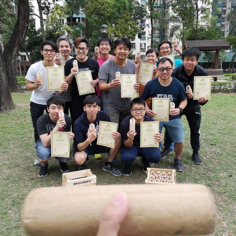 課程 教練 戶外活動 木柱