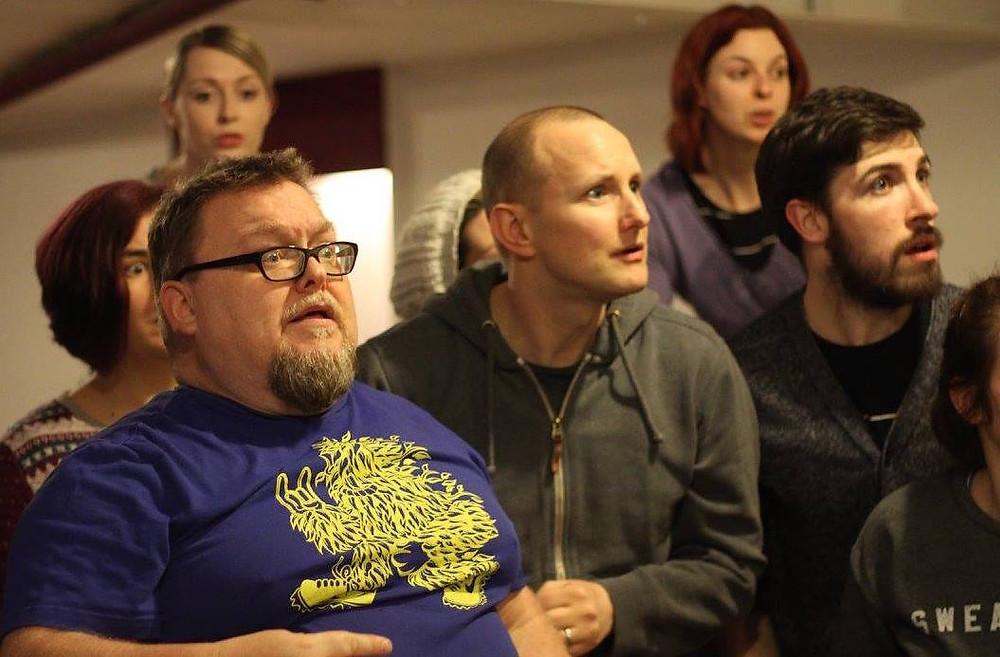 Jim Woods (Nicely), Alan Digweed (Nathan), Angus Reid (Benny)