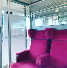Bahnwaggon-Interregio
