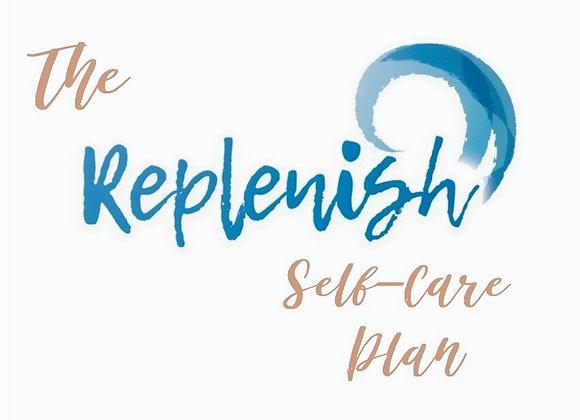 Replenish 'Self-Care Plan'
