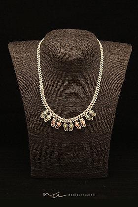 Halskette mit Schmetterlings-Motiven