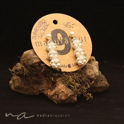 Ohrringe aus Swarovski-Perlen