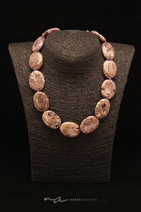 Edelstein-Halskette, Amethyst