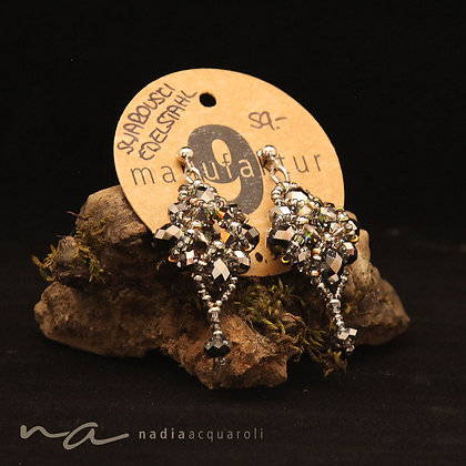Ohrringe mit Swarovski-Perlen