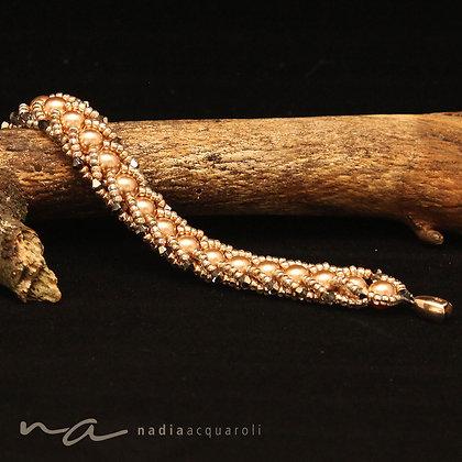 Armband aus Swarovski-Perlen