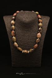 309 - Halsketten Turmalin + Silber - Sil