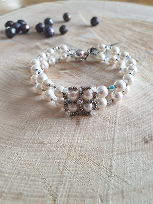 Armband, Swarovski-Perlen