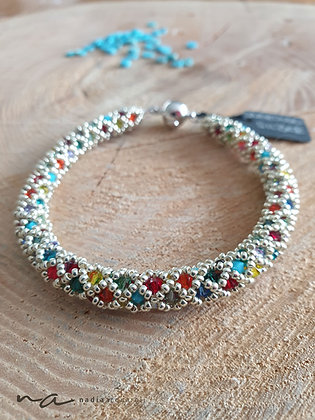 Armband Rom, Multicolor Sommer