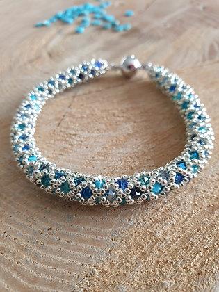 Armband ROMA, blau