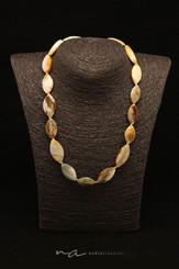 189 - Halskette Jade + Silber - Sicherhe