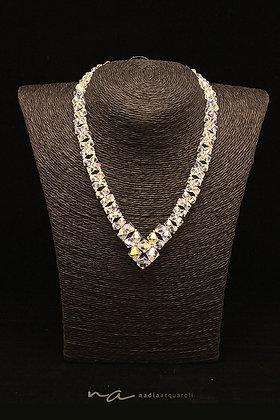 Halskette, Swarovski-Perlen