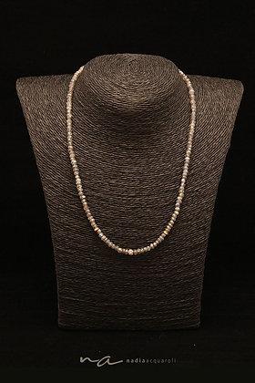 Edelstein-Halskette, Labradorit