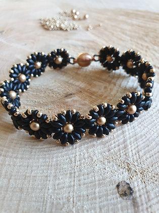 Armband mit Swarovski-Perlen, Div. Farben