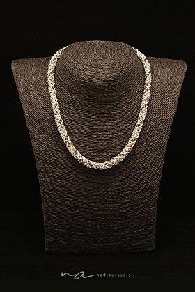 """Halskette Modell """"Pisa"""", eisblau"""