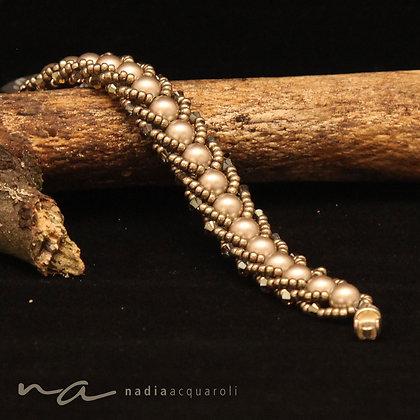Armband aus Swarovski-Perlen, verschiedene Farben